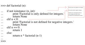 Factorial function improved