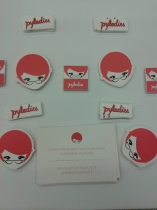 PyLadies Booth - PyCon 2014